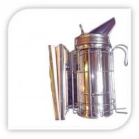 Дымарь пасечный с ограждением (съемный кожаный мех)