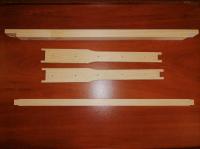 Рамки ульевые Дадан (заготовки), 10 штук