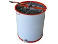Медогонка 3-х рамочная с поворотом кассет из нержавеющей стали